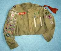 Ross's Scout uniform jacket.